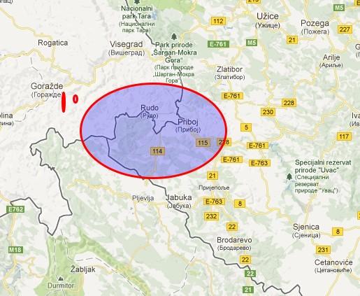 priboj mapa srbije mapa | Angus Young priboj mapa srbije